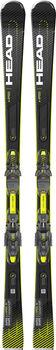Head Supershape e-Speed Ski ohne Bindung schwarz