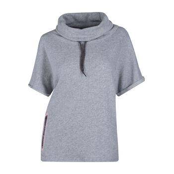 Guess  Da. Sweatshirtkurzarm Damen grau