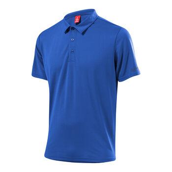 LÖFFLER Poloshirt Tencel Herren blau
