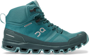 On Cloudrock Waterproof Wanderschuhe Damen grau