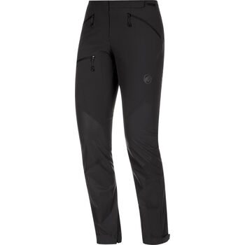 MAMMUT Courmayeur Softshell Pants Damen schwarz