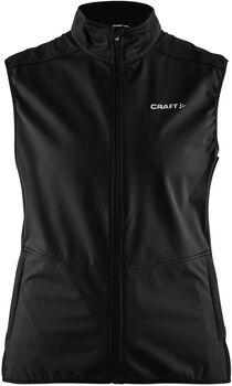 Craft Warm Vest Gilet Damen schwarz