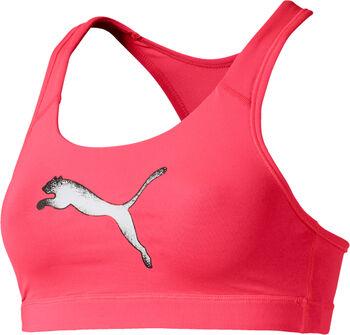Puma 4 Keeps Sport-BH Damen pink