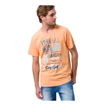 Roadsign Toroquay Beach T-Shirt Herren orange