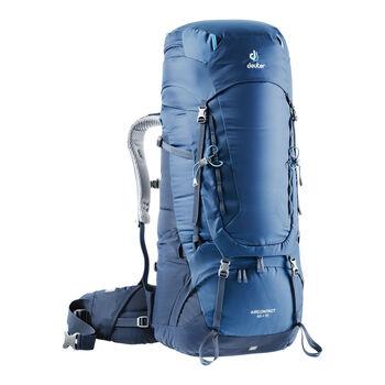 Deuter Aircontact 65 + 10 Trekkingrucksack blau