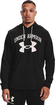 Under Armour Rival Terry Bog Logo Hoodie Herren schwarz