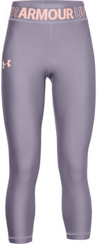 Under Armour HeatGear® Ankle Crop 7/8 Tights Mädchen lila