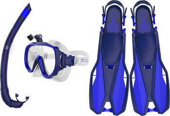 TECNOPRO ST6 3 Travel Tauch-Set blau