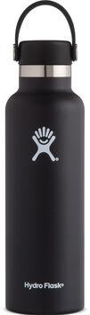 Hydro Flask Standard Mouth Isolierflasche schwarz