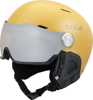 Bollé Might Visor Skihelm gelb