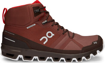 On Cloudrock Waterproof Wanderschuhe Herren braun