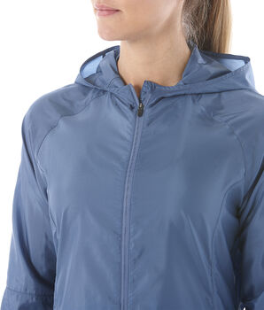 Asics PACKABLE Laufjacke Damen blau