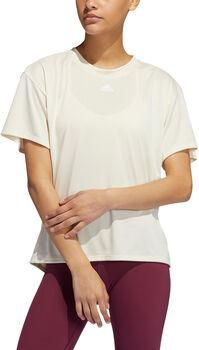 adidas Training 3S Aeroready T-Shirt Damen weiß