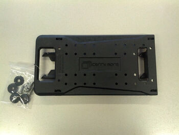 Cytec Adapterplatte für Carry More System schwarz
