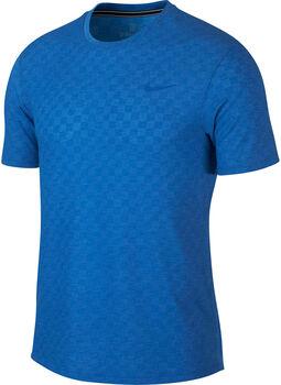 Nike ct Chllngr Tennisshirt Herren blau
