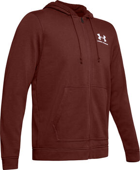 Under Armour Sportstyle FZ Terry Kapuzenjacke Herren rot