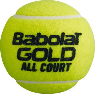 Gold All Court 3er Dose Tennisbälle