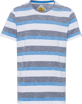 Roadsign Swan River Stripes T-Shirt Herren cremefarben