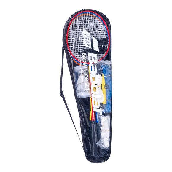 4er Badmintonschläger Set