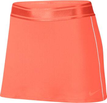 Nike Court Dri-Fit Tennisrock Damen orange