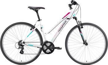 """GENESIS Speed Cross SX 2.1 Crossbike 28"""" Damen weiß"""