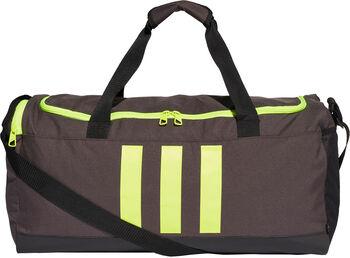 adidas Essentials 3-Streifen Sporttasche grau