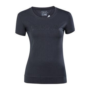 Champion Crewneck T-Shirt Damen schwarz