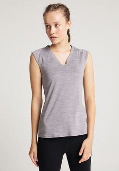 VENICE BEACH Eleamee T-Shirt Damen grau