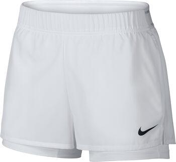 Nike Court Flex Tennisshort Damen weiß
