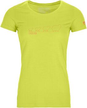 ORTOVOX 150 Cool Ewoolution T-Shirt Damen grün