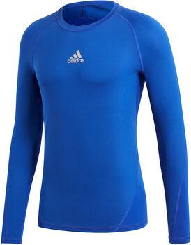 adidas Alphaskin Langarmshirt Herren blau