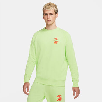 Nike M Nsw Ft Crw Wtour Sweater Herren grün